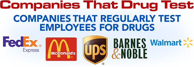 Companies that Drug Test