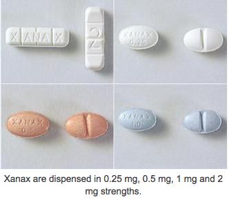 Xanax Pill Photos