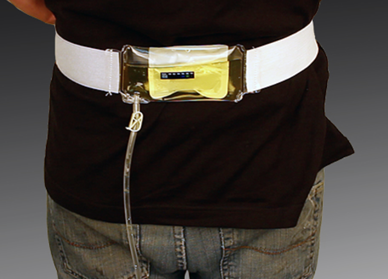apparatus you wear for cheating drug testing